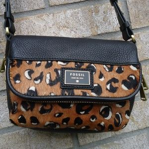 Fossil Issue No.1954 Cow Hide Leather Crossbody